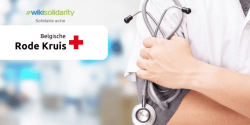 #wikisolidarity solidariteitsactie voor hulp aan het Rode Kruis door te besparen