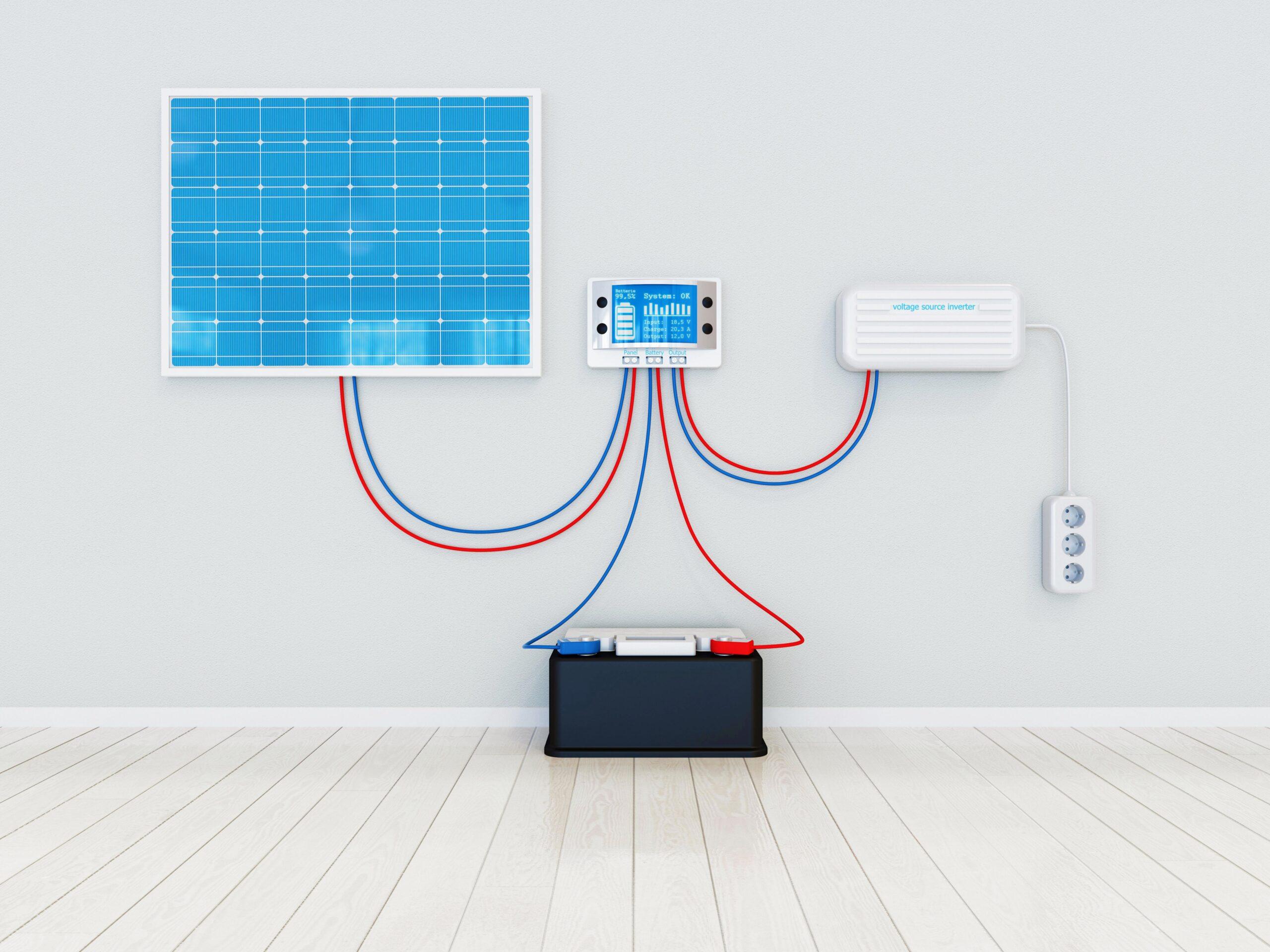 onduleur pour panneaux solaires