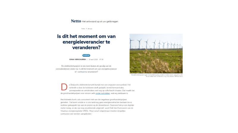 Is dit het moment om van energieleverancier te veranderen?